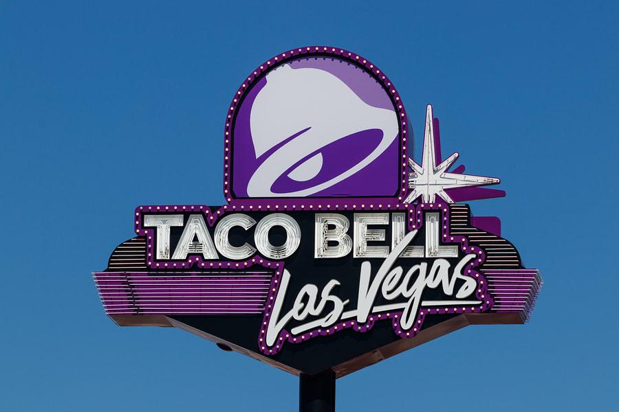 Taco Bell em Las Vegas