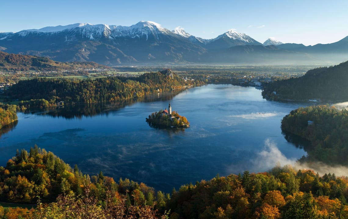 Backpacking in the Balkans: Slovenia