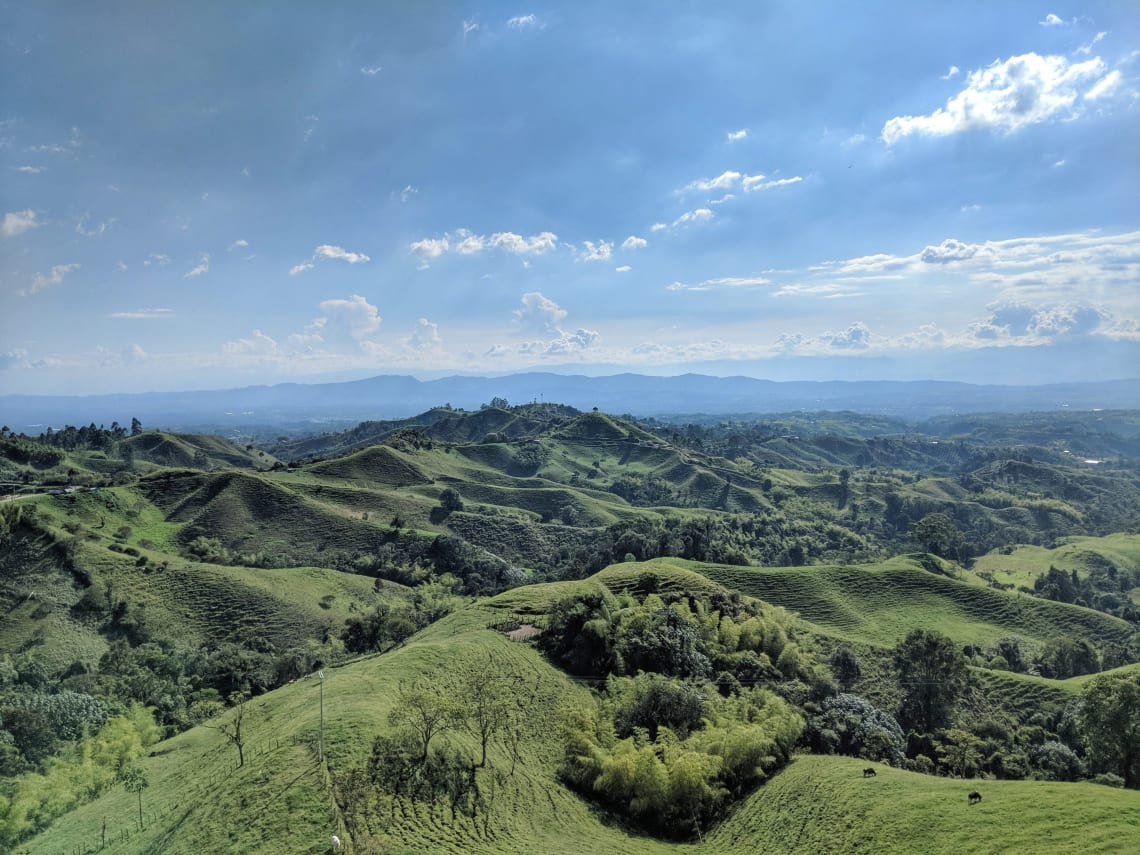 Taking a sabbatical in Colombia, South America