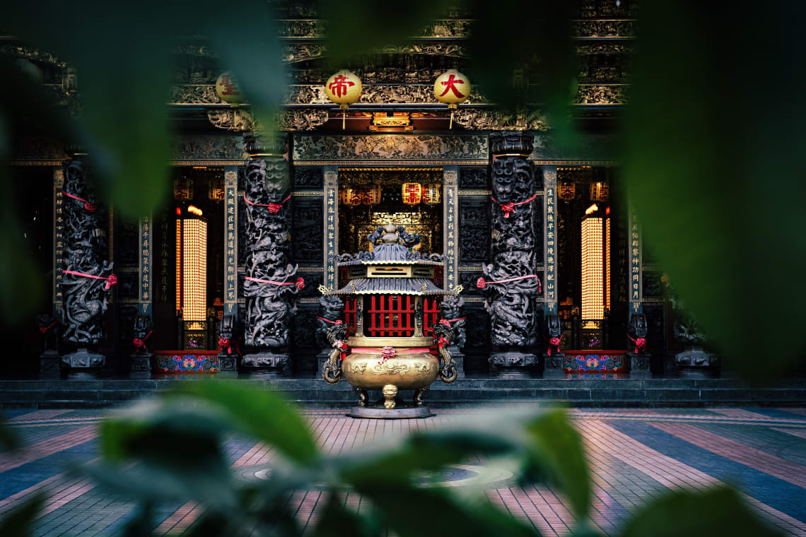 Temples of Kaohsiung, Taiwan