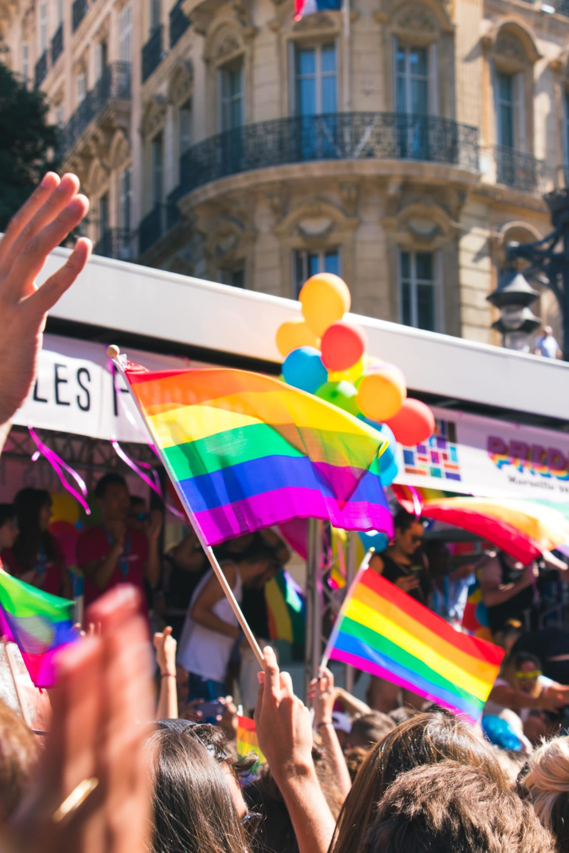 Gay Pride Celebration, France
