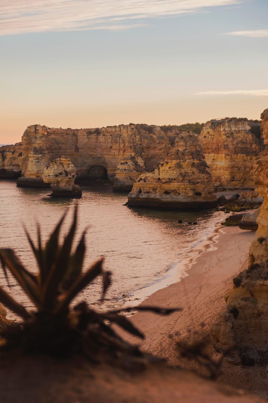 Best European destinations for nature lovers: Algarve Coast, Portugal