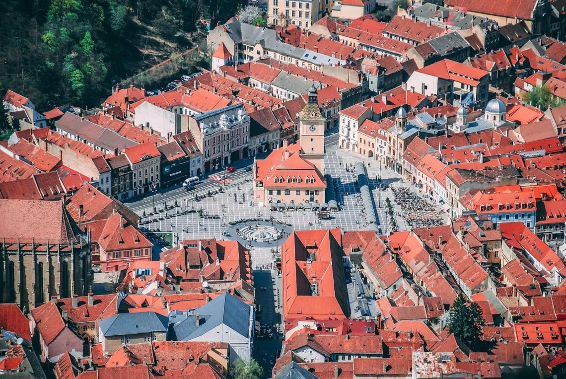 Centro de Brasov, Romênia
