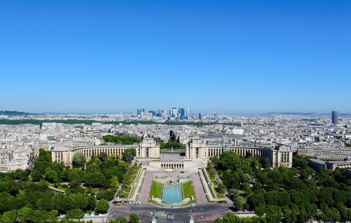 Trocadero Gardens, Paris, France