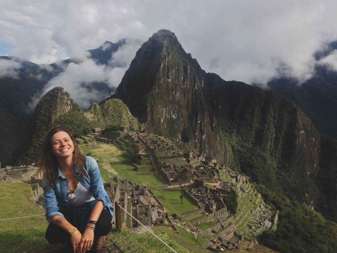 Carol Finardi no Peru