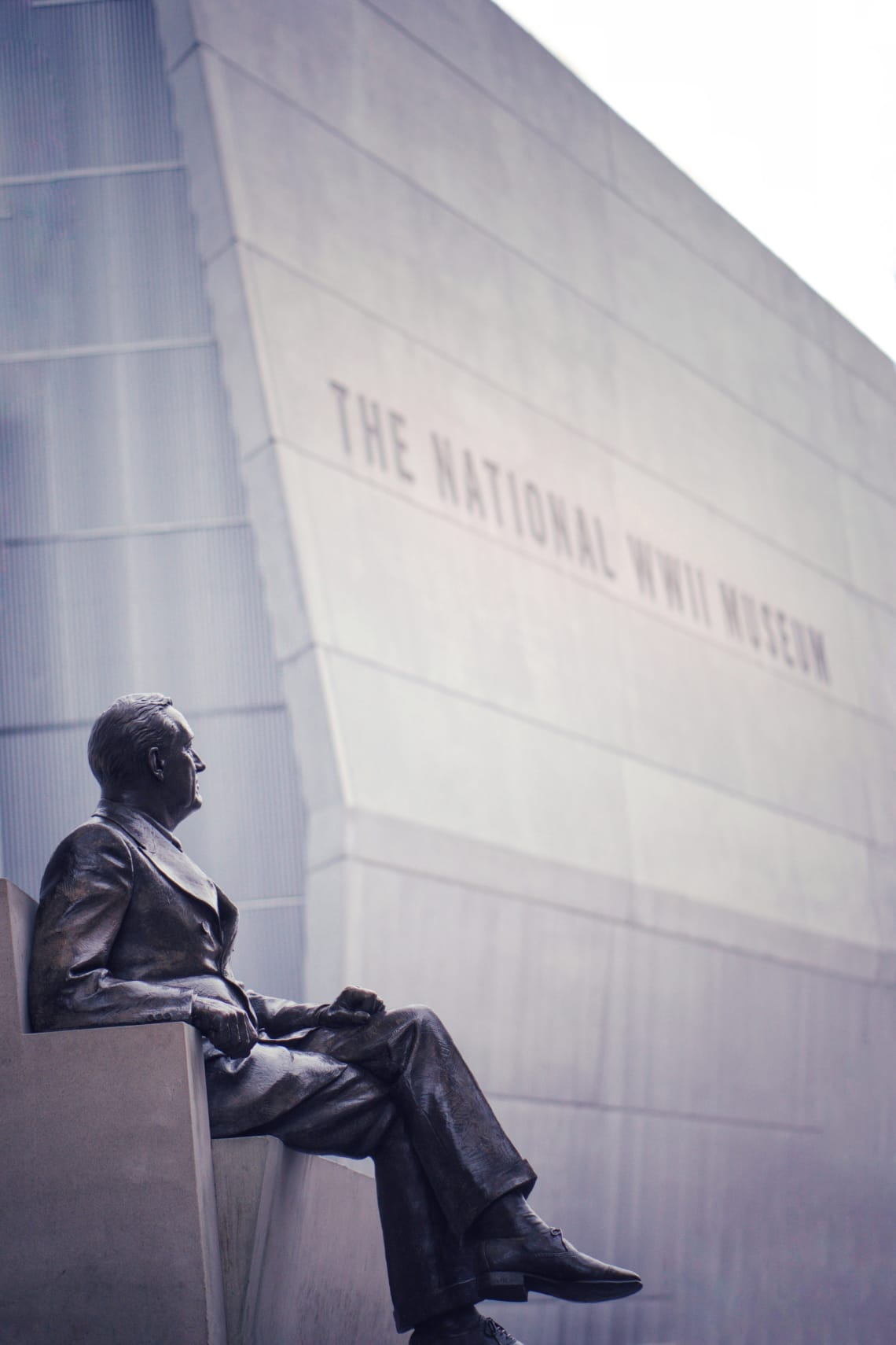 Things to do in New Orleans: visit the National WWII Museum