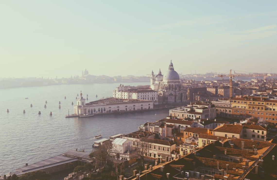 Panorama of Venice, Italy, Europe
