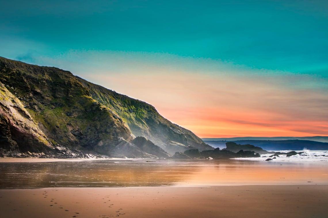 Sunset, Cornwall, United Kingdom