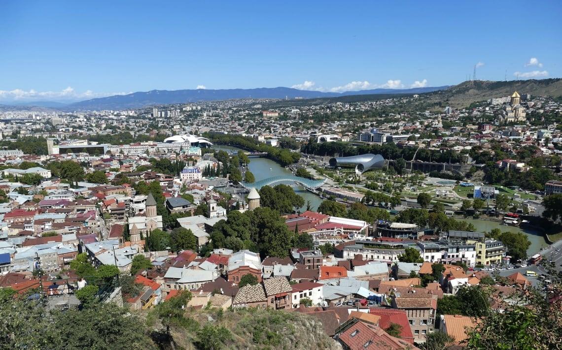 Panorama, Tbilisi, Georgia