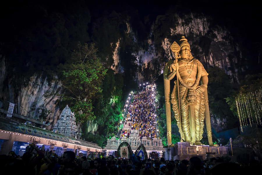 Festivais típicos da cultura asiática: Thaipusam