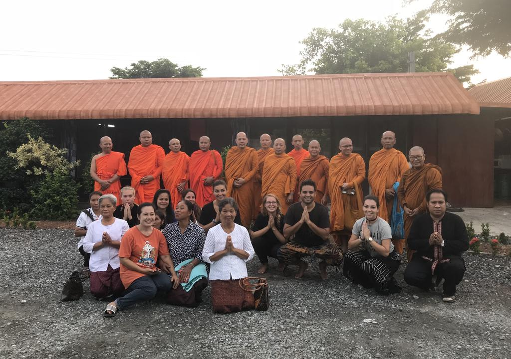 Learn about Buddhism, meditation, and help out in a garden in Thailand