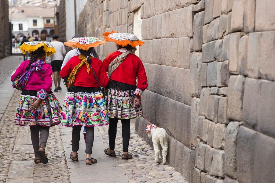Cusco é uma cidade que ainda respira cultura Inca