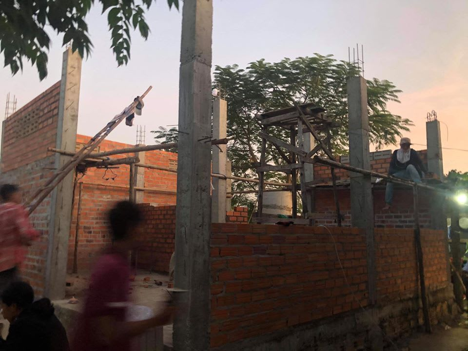 Humanitarian work in Battambang, Cambodia