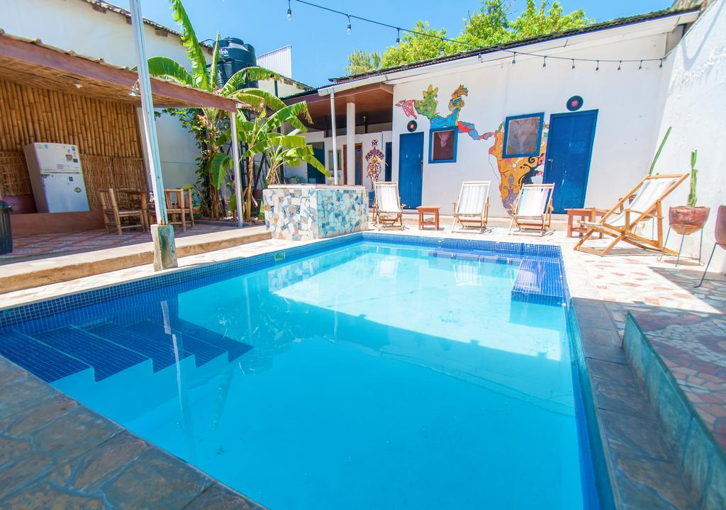 Pool at The Townhouse Hostel, Nicaragua