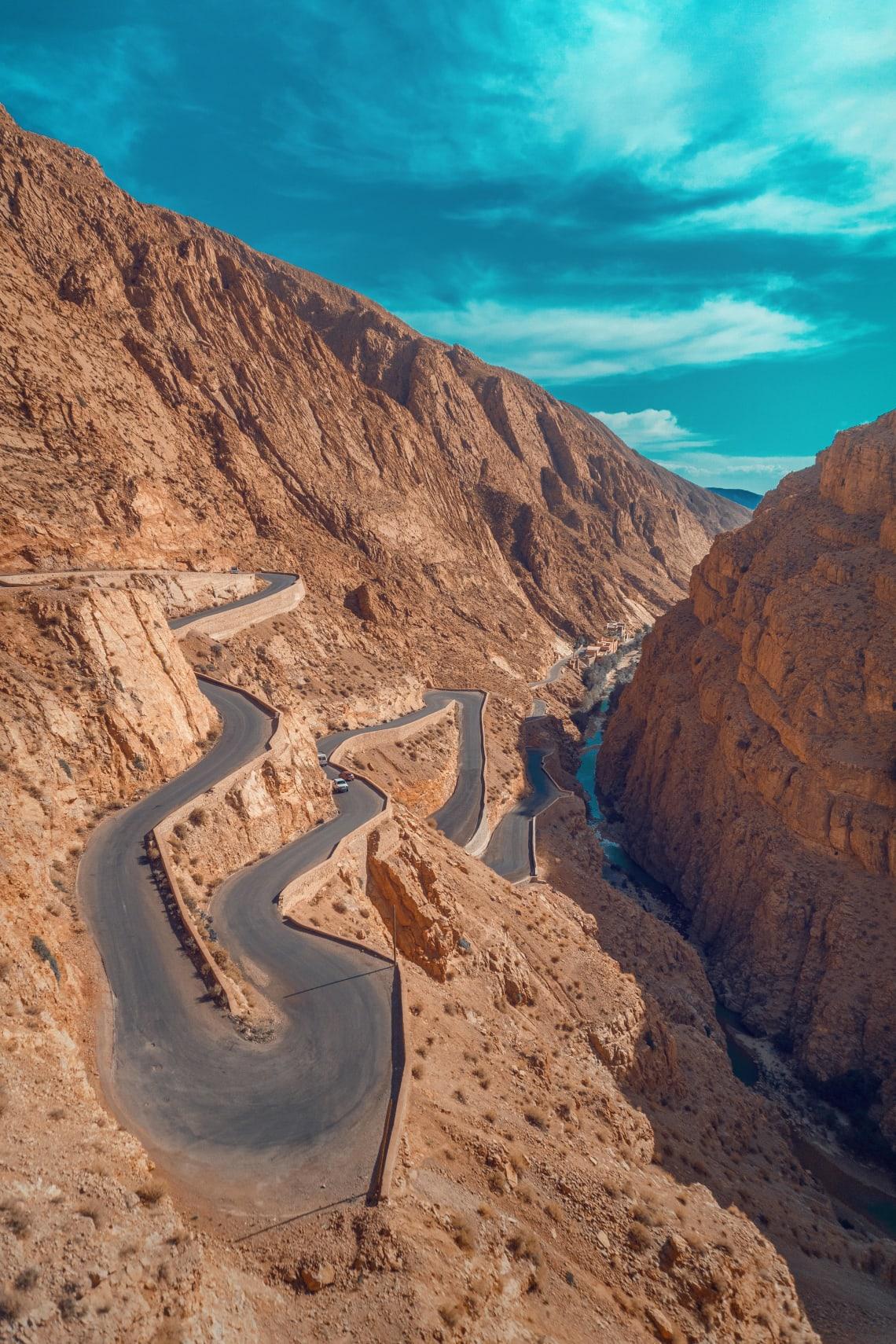 Dadès Gorges, Atlas Mountains, Morocco
