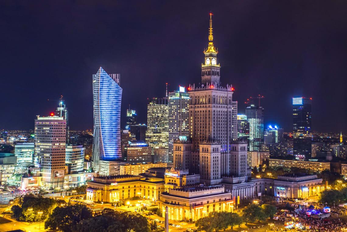 Cidades mais baratas da Europa para ser nômade digital: Varsóvia, Polônia