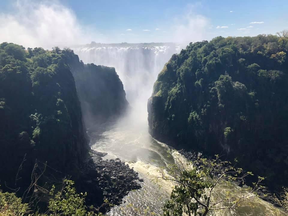 victoria falls zambia africa austral