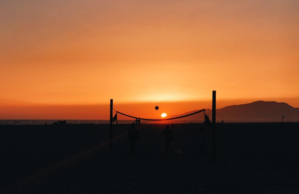 Sunset, Tarifa, Spain