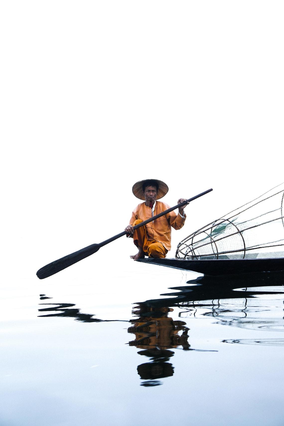 Backpacking Myanmar itinerary: Inle Lake