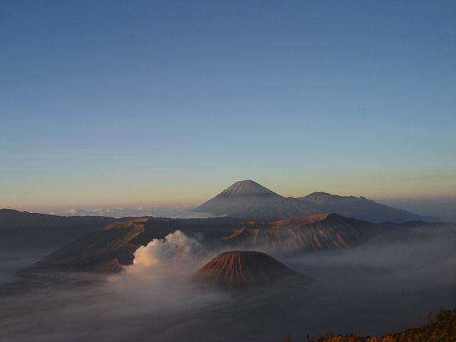 Montanhas da Ásia: Bromo, Indonésia