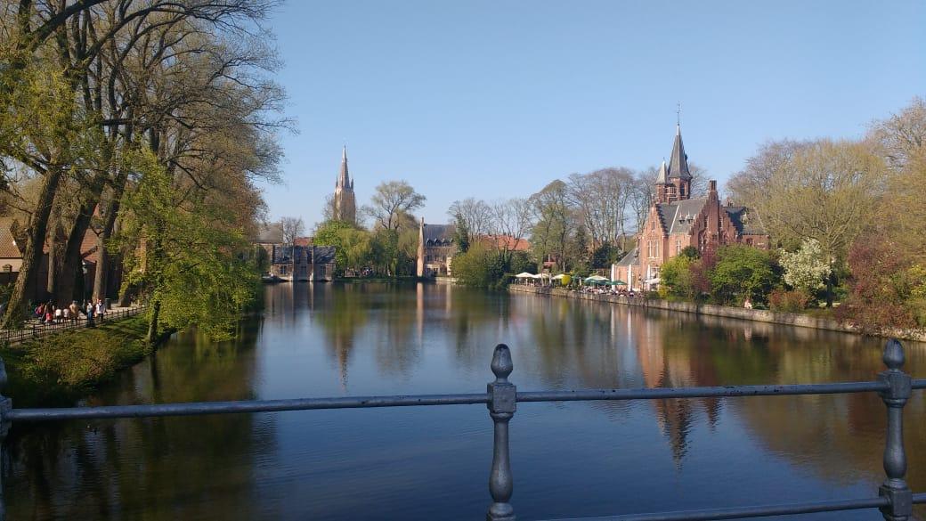 Cidade para viajar em casal: Bruges