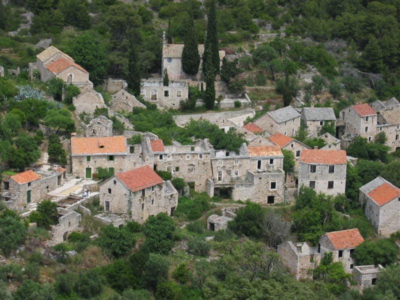 Malo Grablje Village, Croatia
