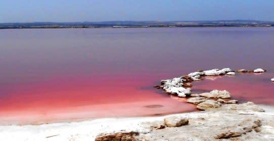 Viagem para a Espanha: Laguna Rosa