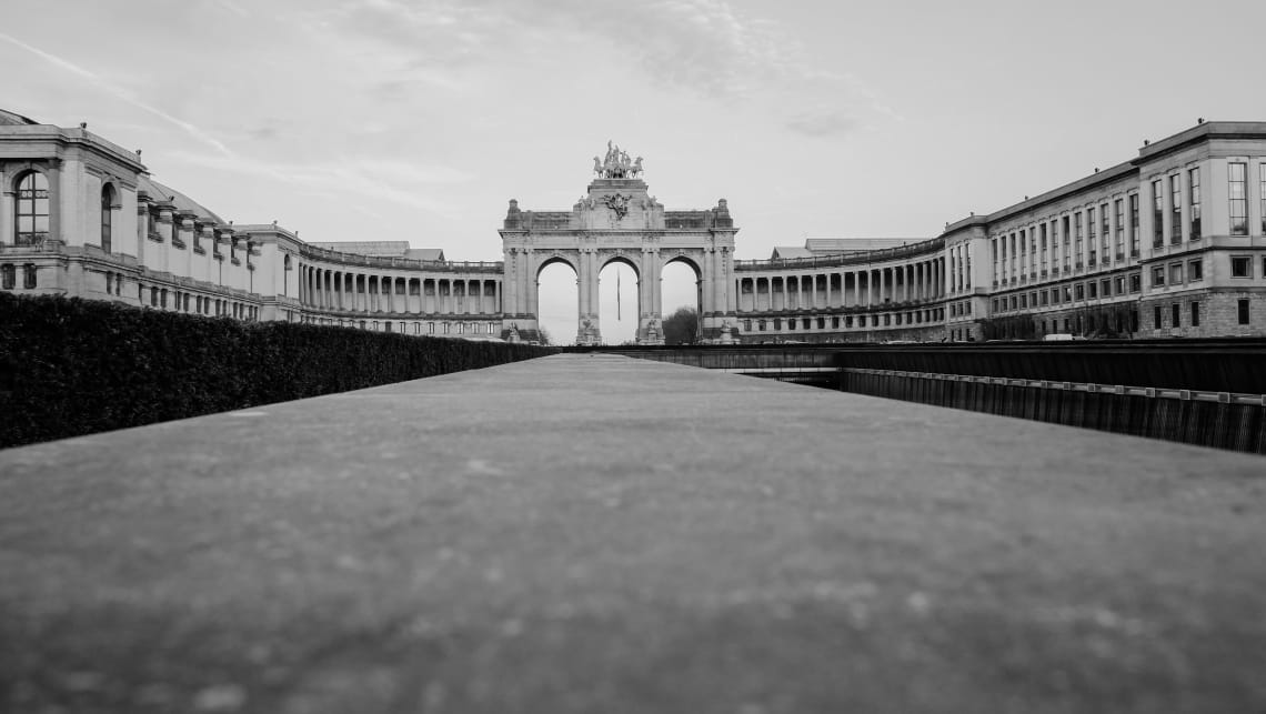 Places to visit in Brussels: Cinquantenaire Park