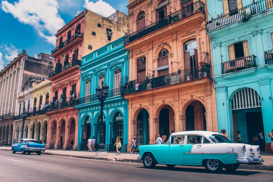 Places to travel in your 20's on a budget: Cuba