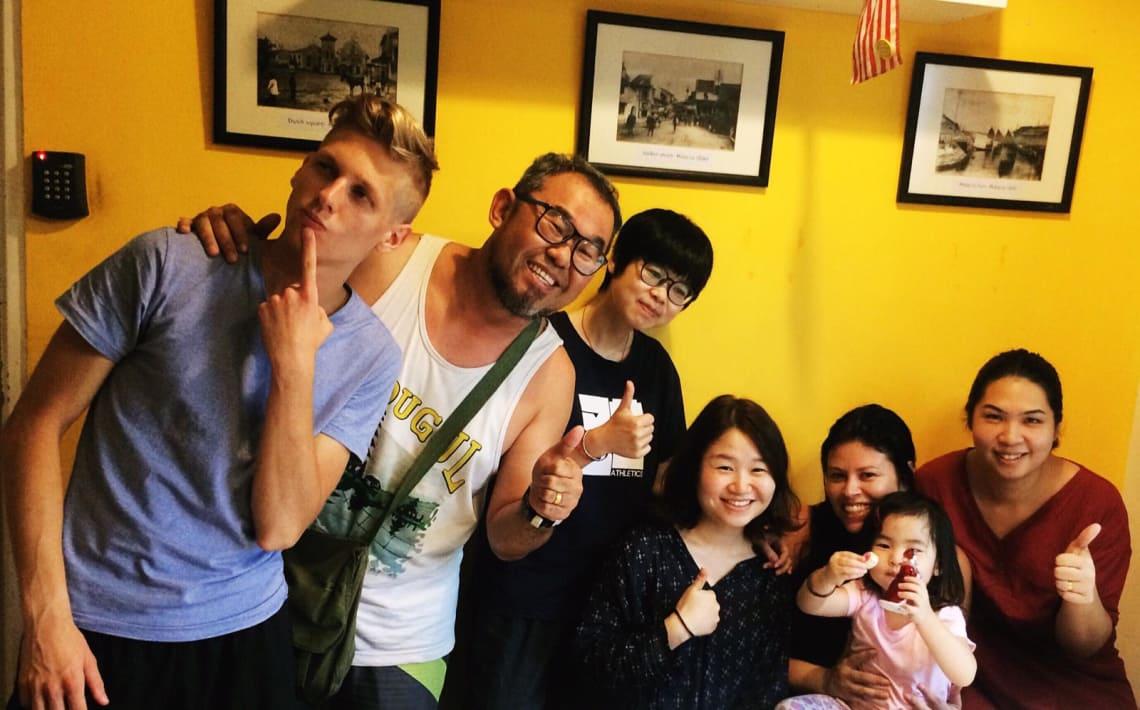 Experiência worldpacker em Taiwan