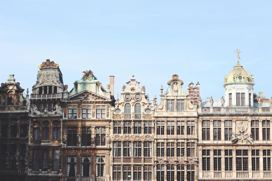Stunning architecture, Belgium, Europe