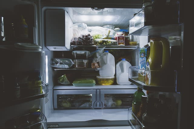 A geladeira sempre é um ponto importante na divisão