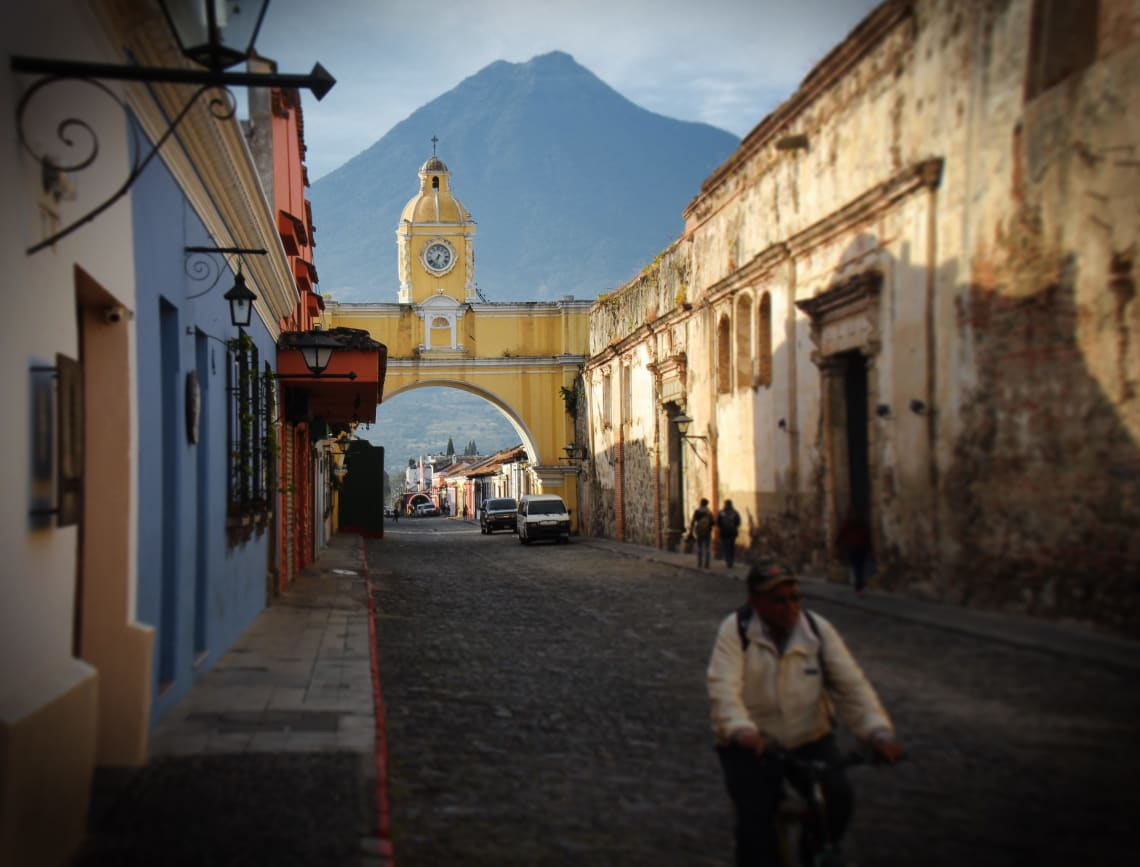 Top things to do in Guatemala: sightsee in Antigua
