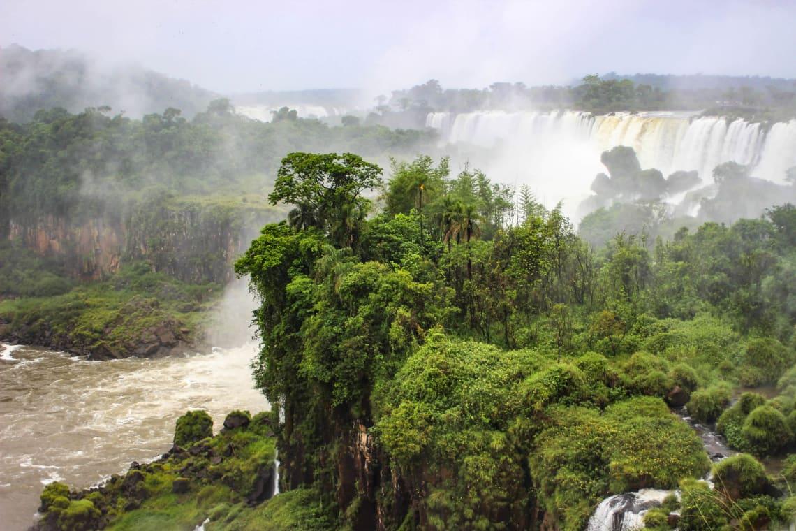 Iguaçu Falls, Brazil, South America