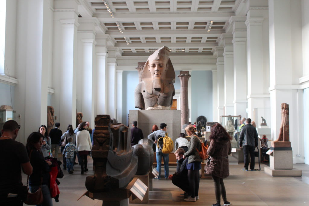 12 lugares que no debes perderte en Londres - Worldpackers - british museo en londres