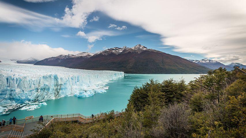 Cómo viajar a la Patagonia argentina con poco presupuesto - Worldpackers - glaciar Perito Moreno en El Calafate