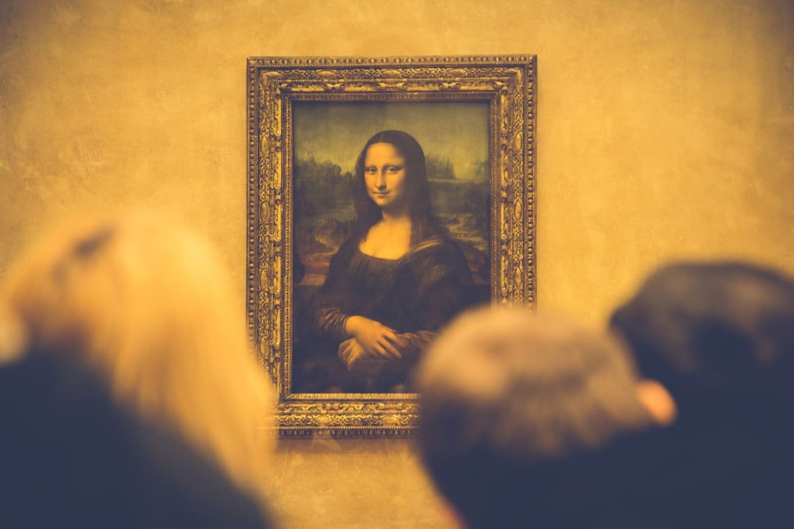 Mona Lisa, Paris, France