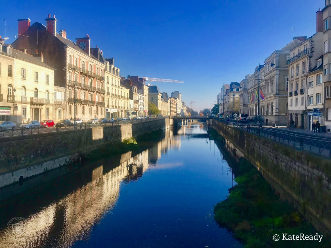 Canal, Rennes, France