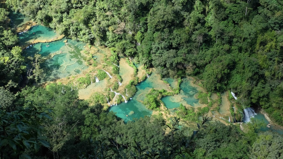Top things to do in Guatemala: experience bliss at Semuc Champey