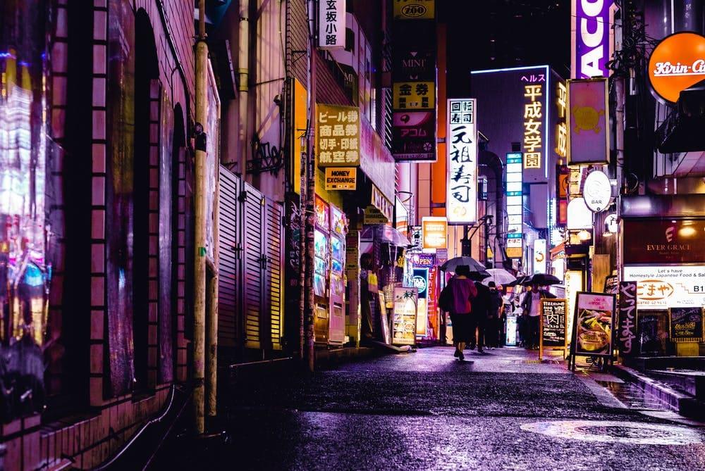 Consejos para viajar solo a Japón - Worldpackers - calle solitaria en Japón