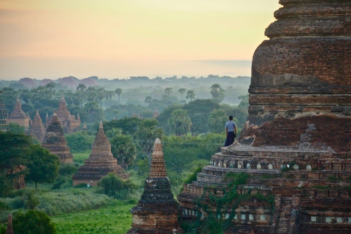Backpacking Myanmar itinerary: Bagan