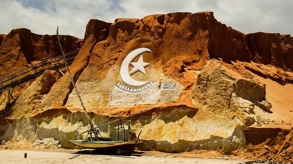 canoa quebrada melhores praias fortaleza