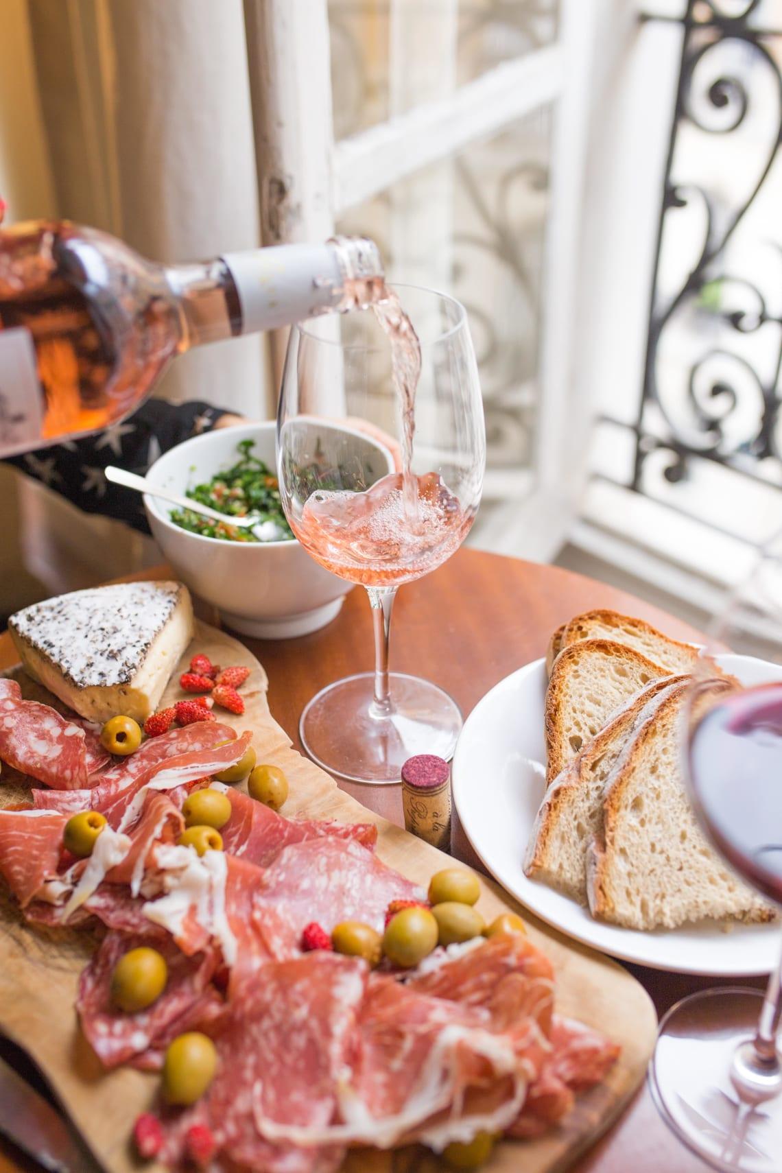 Amazing French food, Paris, France