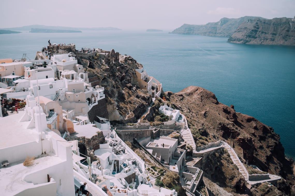 Lugares para viajar sozinha no exterior: Grécia