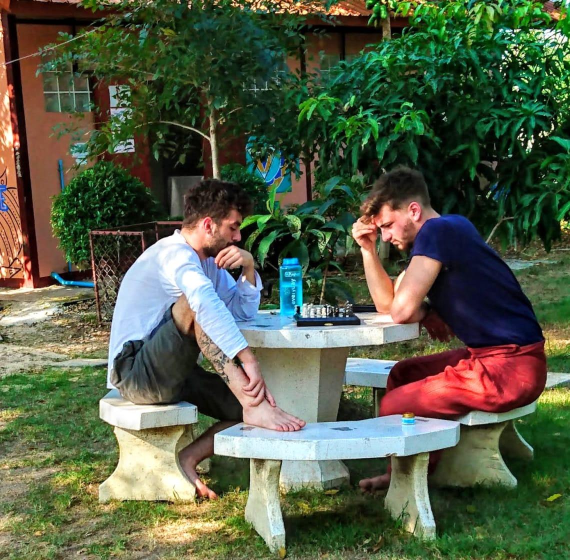 Viviendo con monjes y voluntarios en el centro de meditación Dhutanga - Worldpackers