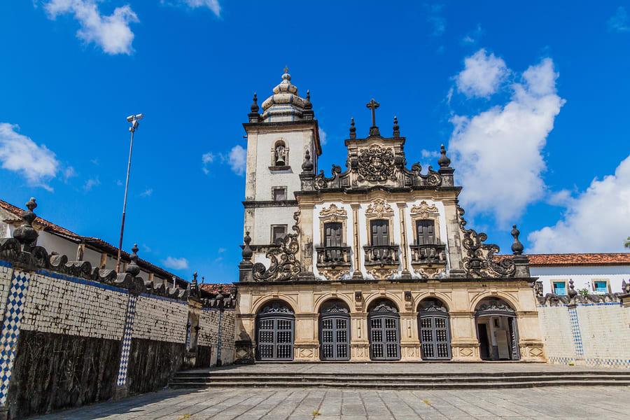 Igreja de São Francisco, no centro histórico de João Pessoa