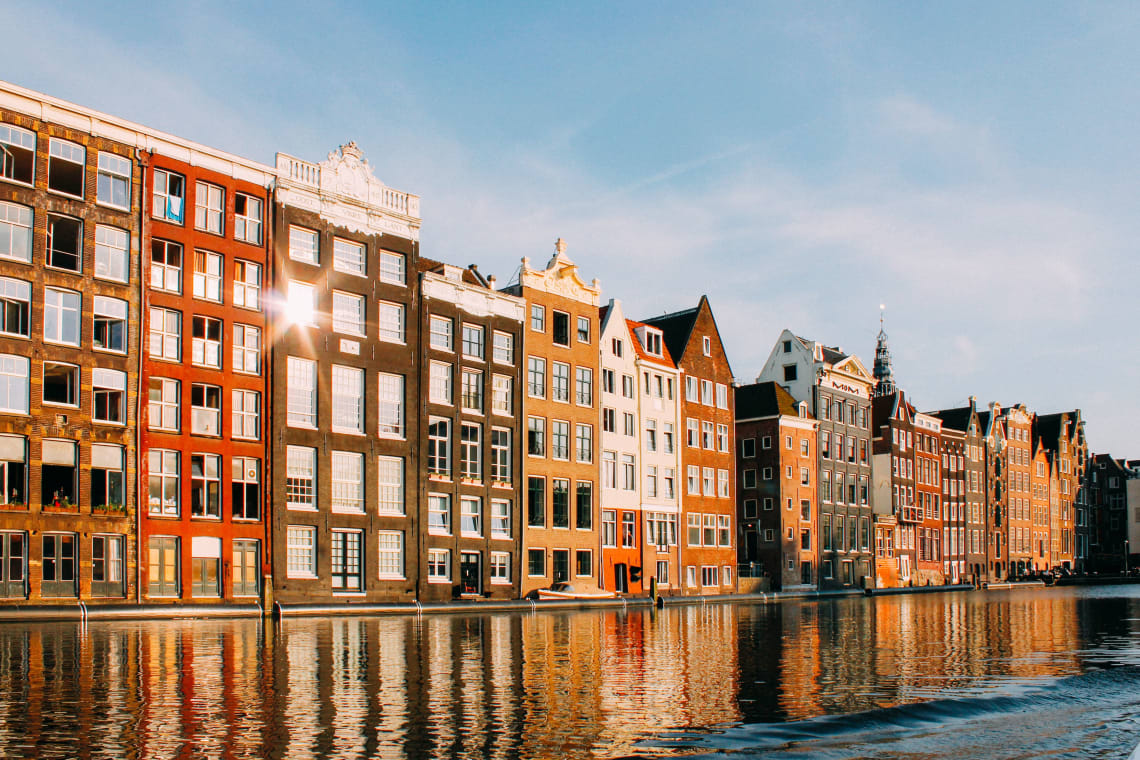 Architecture in Amsterdam, Netherlands
