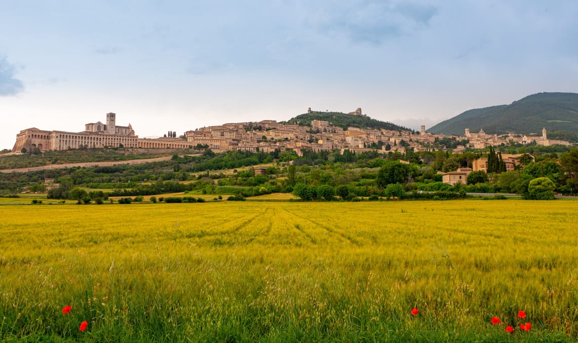 Italy destinations: Assisi, Umbria