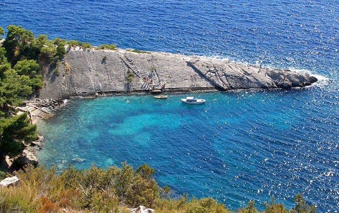 Zarace, The Adriatic Sea, Croatia
