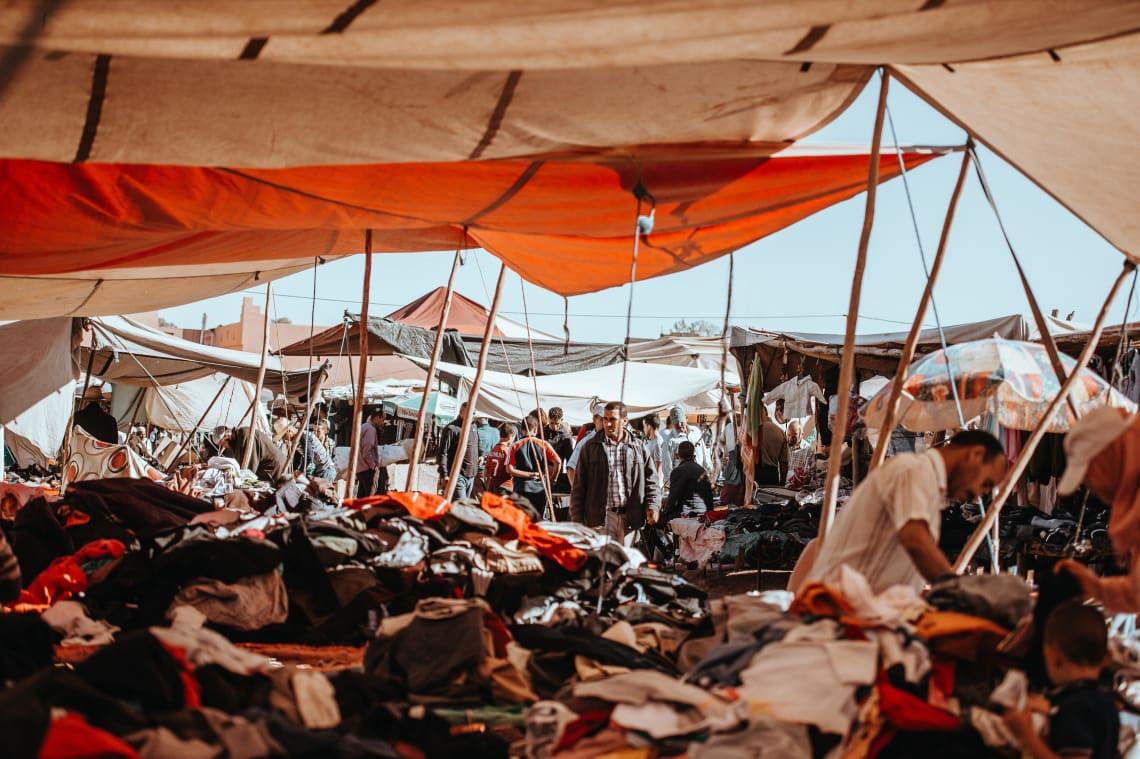 Local market, Morocco